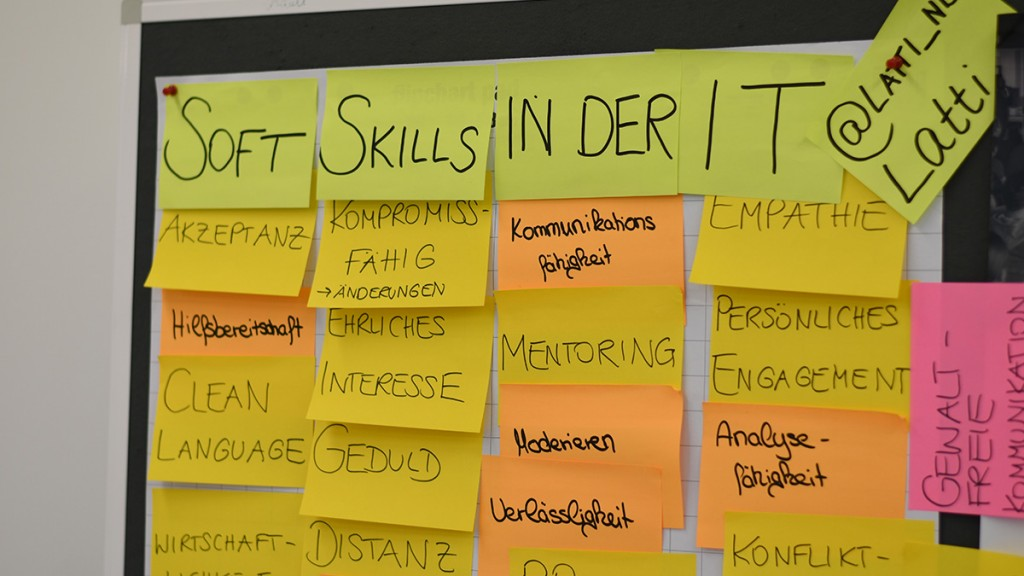 Session Softskills in der IT Rückblick auf das Developer Camp 2018