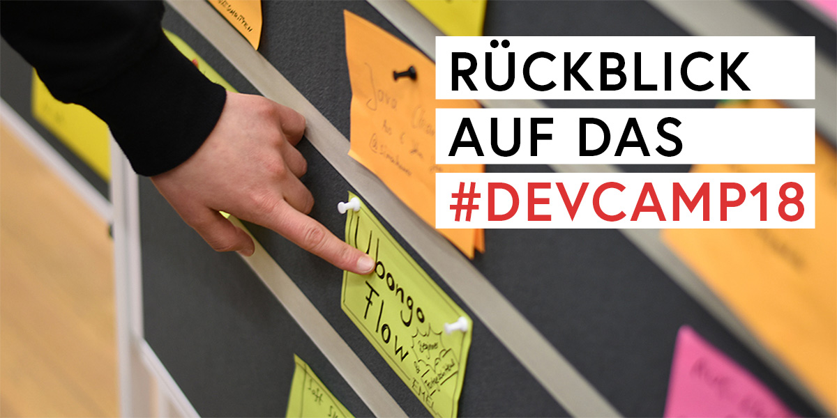 Rückblick Developer Camp 2018 Teaserbild